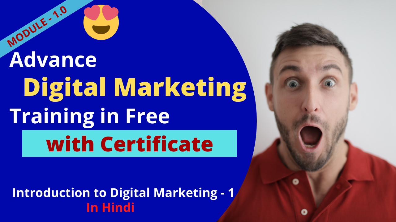 Advance Digital Marketing Certification Training