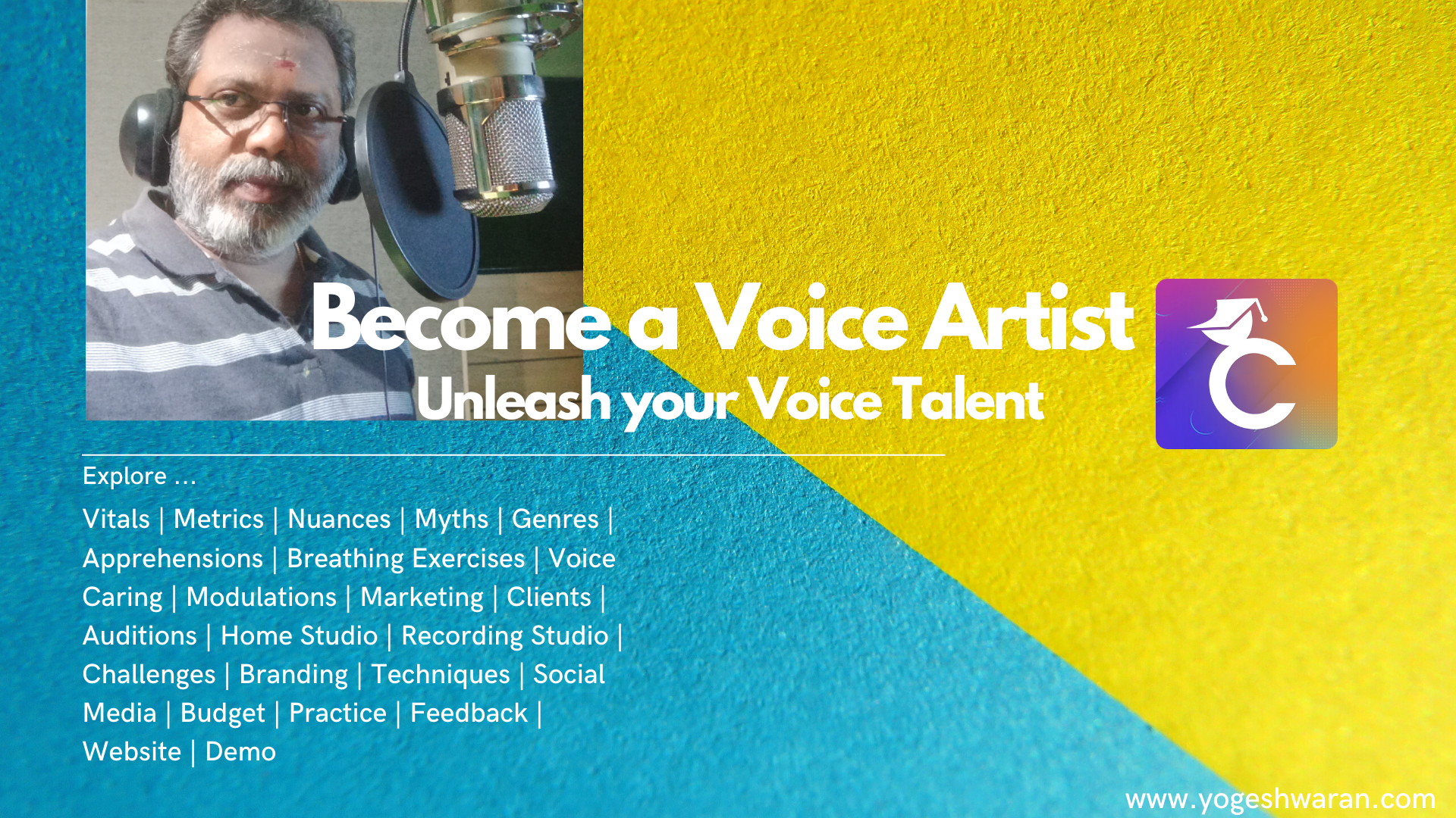 Become a Voice Artist - Unleash your Voice Talent