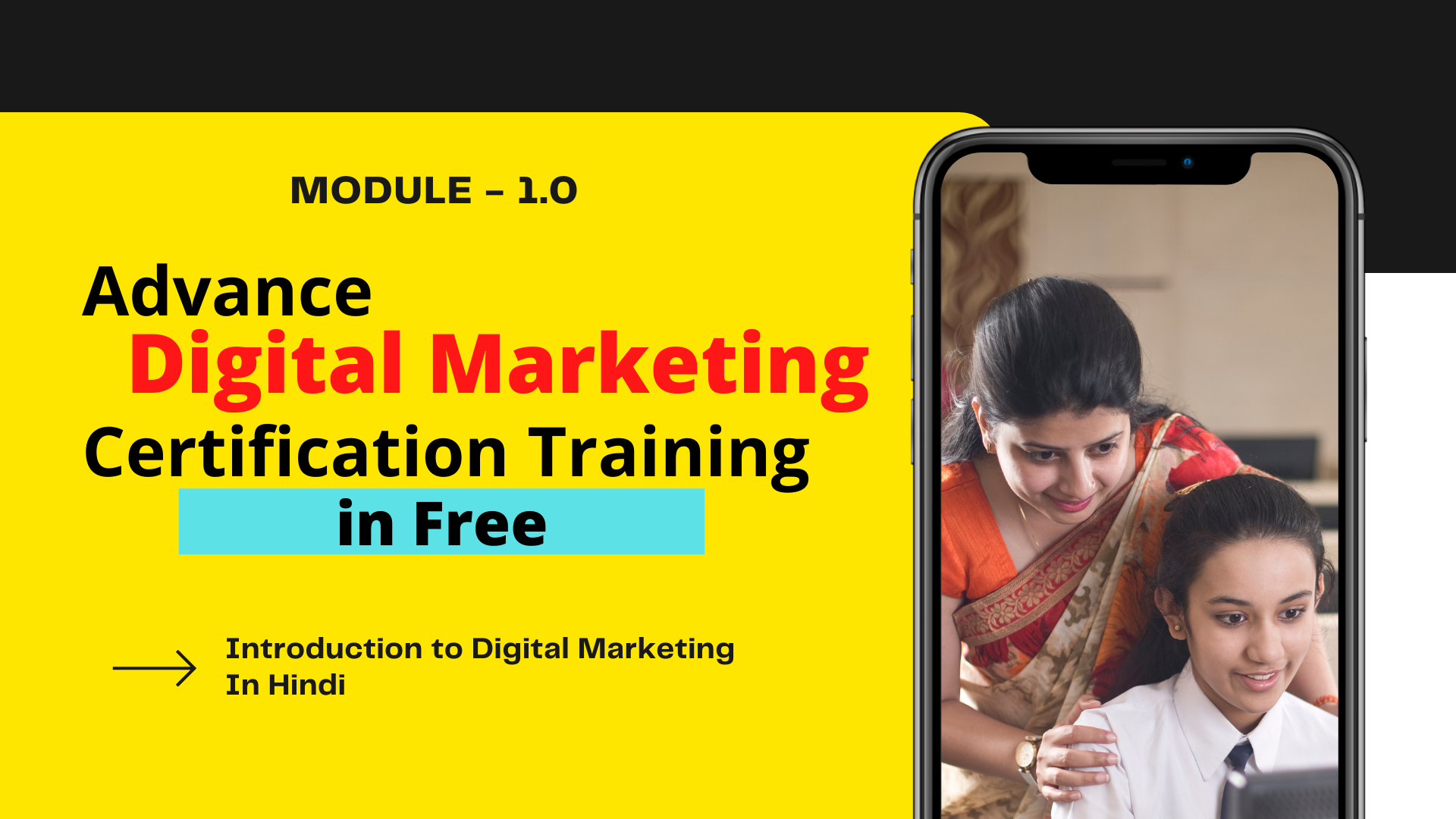 Free Digital Marketing Certification Course